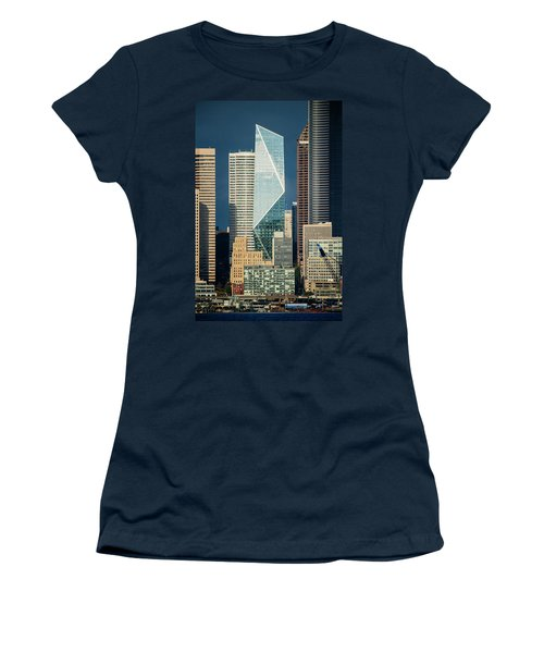 Modern Architecture In City, Seattle Women's T-Shirt