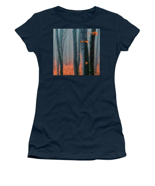 Orange Wood Women's T-Shirt