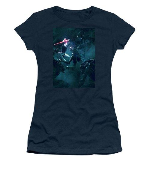 501 Vs Aliens 3 Women's T-Shirt