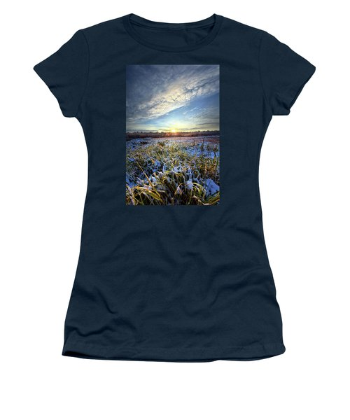 Women's T-Shirt featuring the photograph A Dream Is A Wish That The Heart Makes by Phil Koch