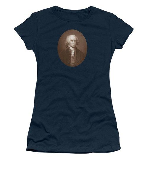 James Madison Engraved Portrait Women's T-Shirt