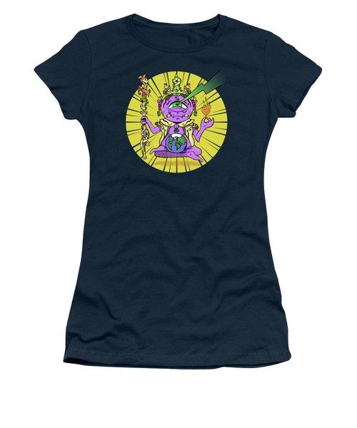 Women's T-Shirt featuring the digital art Zen by Sotuland Art