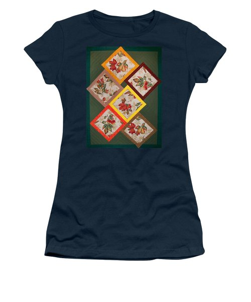 Autumn Fruit And Leaves Women's T-Shirt