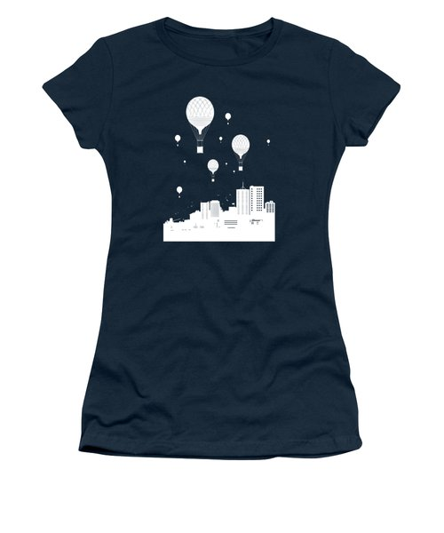 Balloons And The City Women's T-Shirt