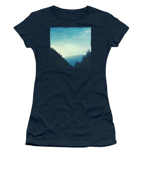 Beautiful Mountain Morning Women's T-Shirt