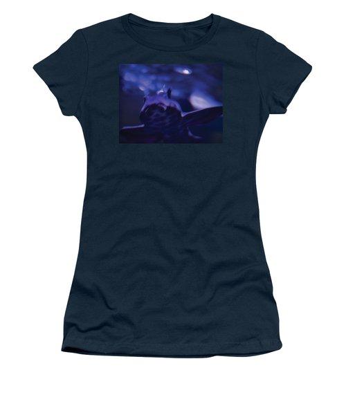 Blue Greeting Women's T-Shirt