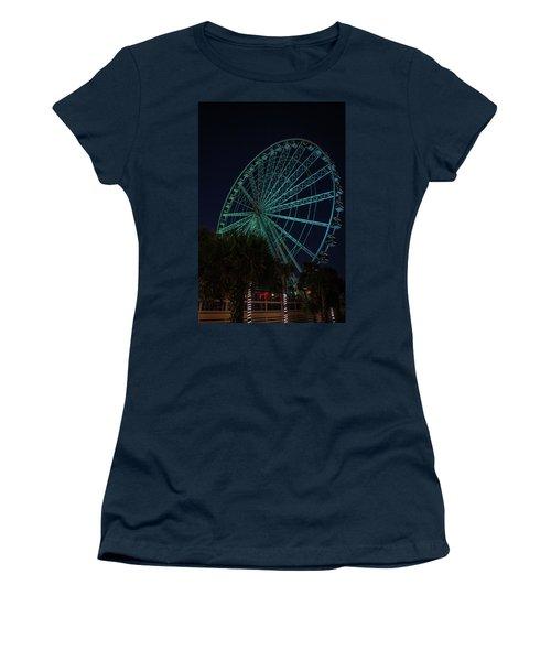 Blue Wheel Women's T-Shirt