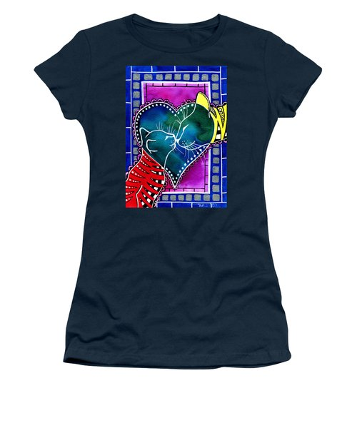 Cat Mom Love Women's T-Shirt