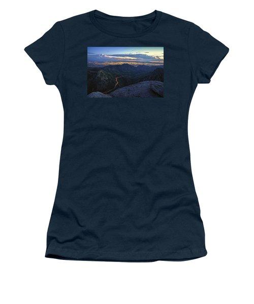 Catalina Highway And Tucson Women's T-Shirt