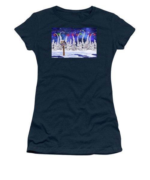 Christmas Lights Women's T-Shirt