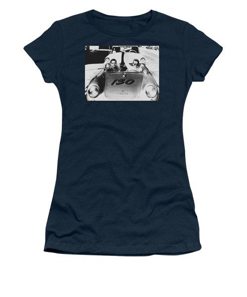 Classic James Dean Porsche Photo Women's T-Shirt