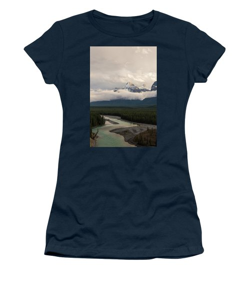 Women's T-Shirt featuring the photograph Clouds In The Valley by Alex Lapidus