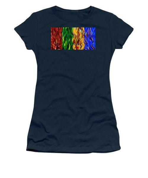 Colored Fire Women's T-Shirt