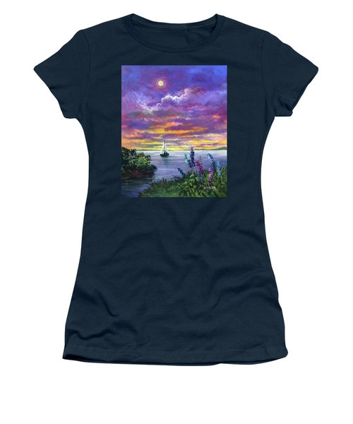 Delphinium Dreams Women's T-Shirt