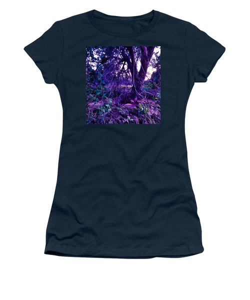 Women's T-Shirt featuring the photograph Dreamy Desert Wash  by Judy Kennedy