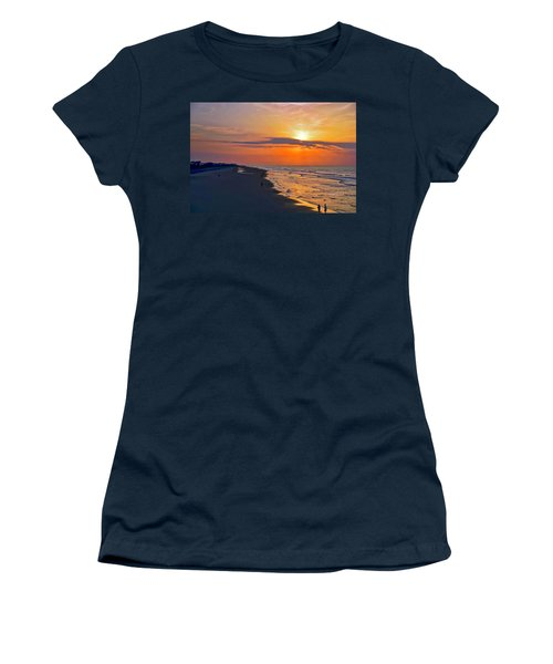 Folly Beach Sunrise Women's T-Shirt