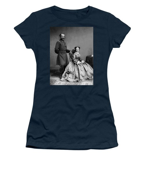 General Custer And His Wife Libbie Women's T-Shirt