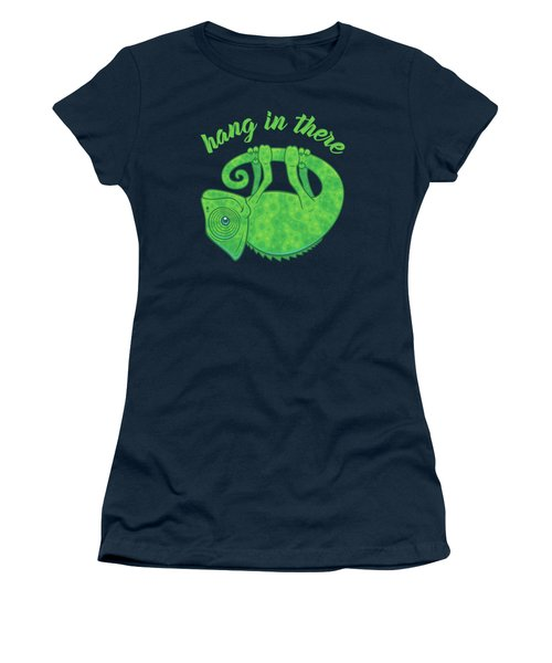 Hang In There Magical Chameleon Women's T-Shirt