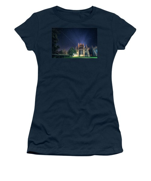 Iss Over Ely Cathedral Women's T-Shirt