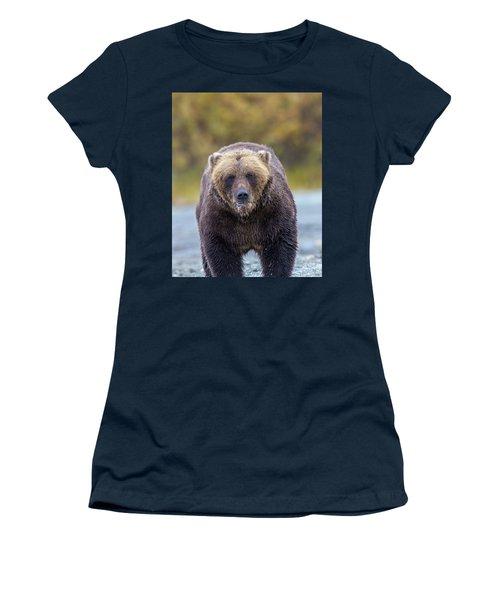 Lazy C Angry Bear  Women's T-Shirt