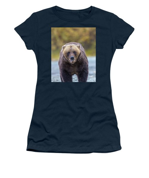 Lazy C Angry Bear  Women's T-Shirt