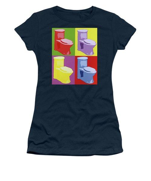 Les Toilettes  Women's T-Shirt