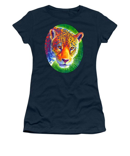 Light In The Rainforest - Jaguar Women's T-Shirt