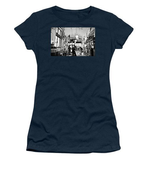 Loris Diner San Francisco Bw Women's T-Shirt