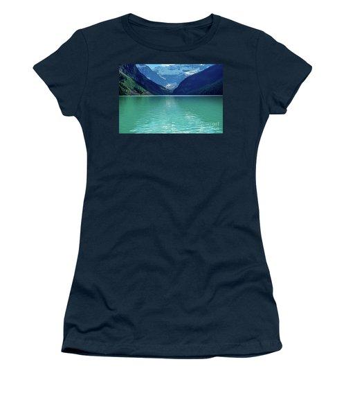 Magic At Lake Louise Women's T-Shirt