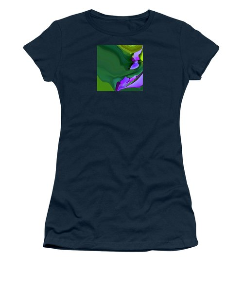 Orchids And Emeralds Women's T-Shirt