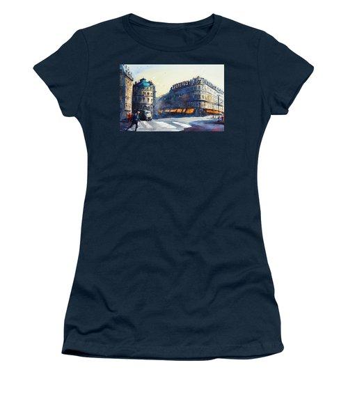 Paris, Near Opera Women's T-Shirt
