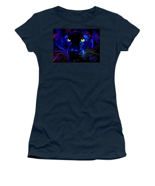 pOpCat Black Panther Women's T-Shirt