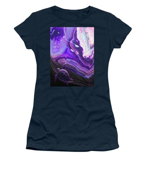 Purple Munchkin Women's T-Shirt