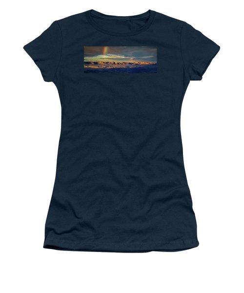 Rainbow Over Sedona Women's T-Shirt