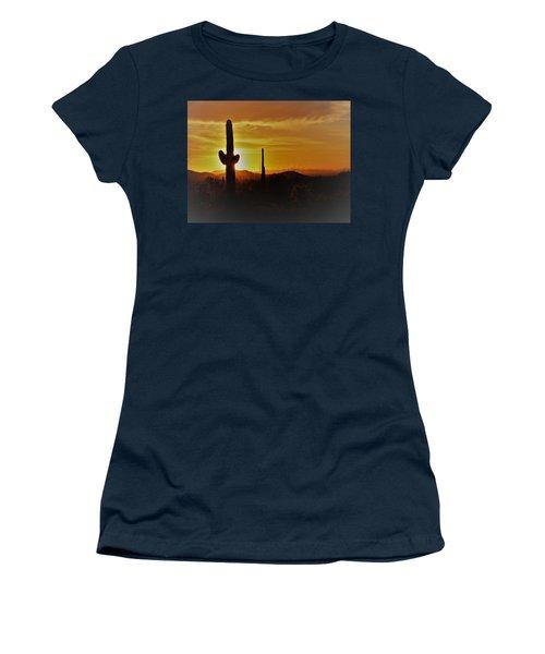 Saguaro Sunset Women's T-Shirt