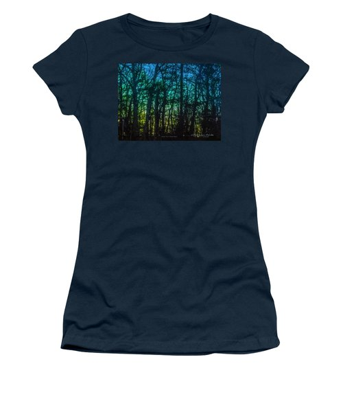 Stained Glass Dawn Women's T-Shirt