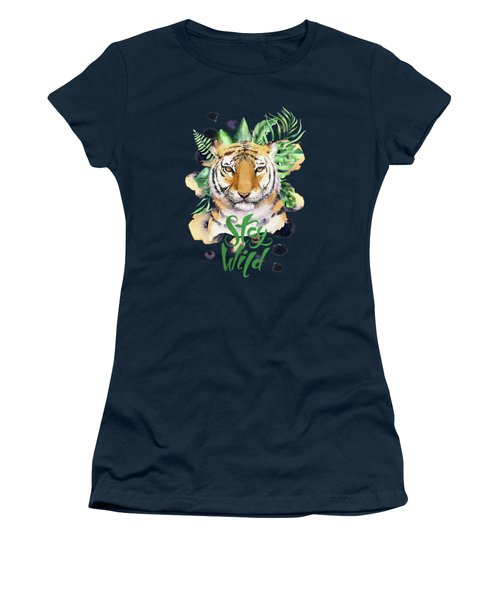Stay Wild Tiger Women's T-Shirt