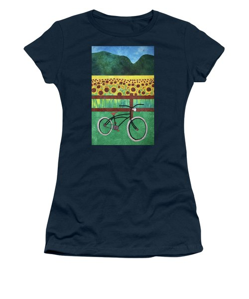 Sunflowers At Whitehall Farm Women's T-Shirt