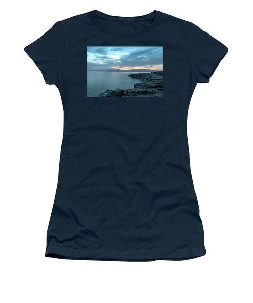 Before Dawn At The Dead Sea Women's T-Shirt