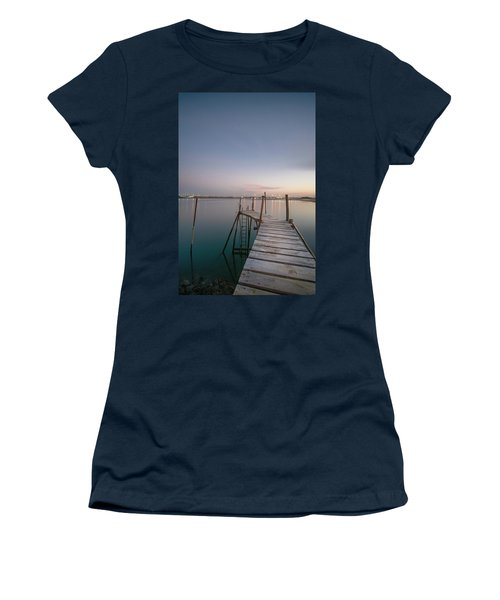 Women's T-Shirt featuring the photograph Take A Walk by Bruno Rosa