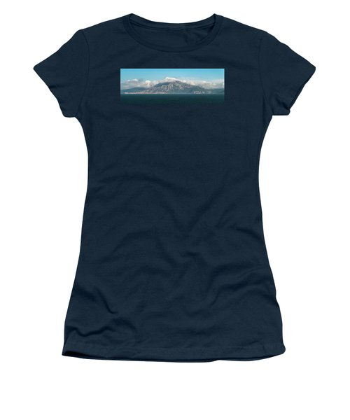 Women's T-Shirt featuring the photograph The Southern Pillar Of Hercules by William Dickman