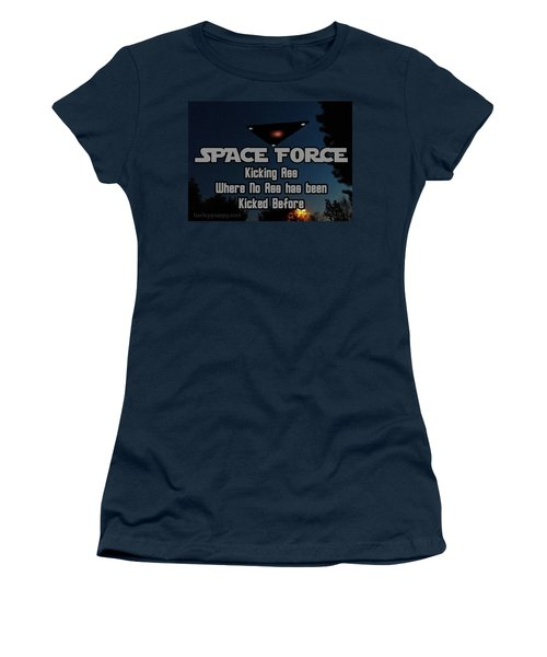 The United States . Space Force Women's T-Shirt