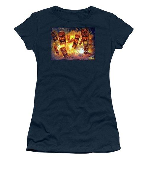 Tiki Hot Spot Women's T-Shirt