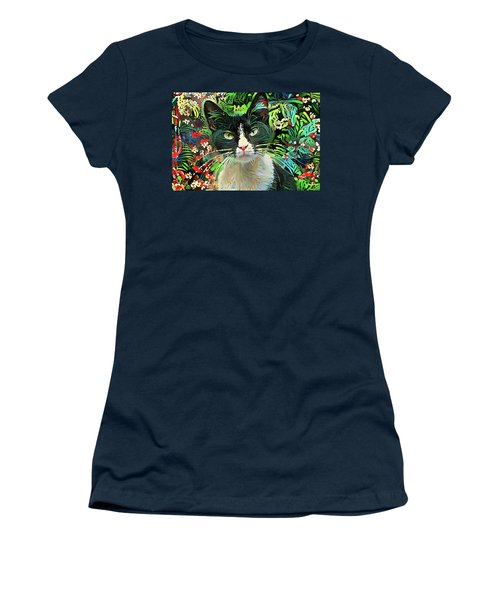 Tucker The Tuxedo Cat Women's T-Shirt