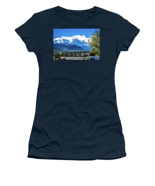 Women's T-Shirt (Athletic Fit) featuring the photograph View From The Stanley by James L Bartlett