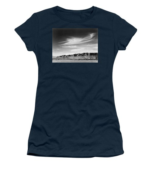 View South From Manzanar To Alabama Hills, California, 1943 Women's T-Shirt
