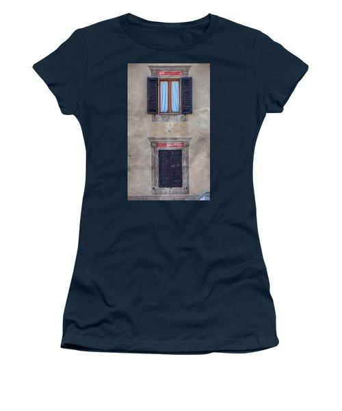 Windows Of Montalcino Women's T-Shirt