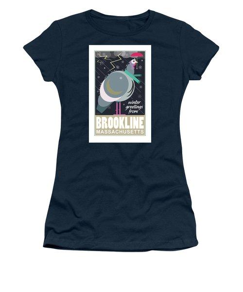 Winter Greetings Women's T-Shirt