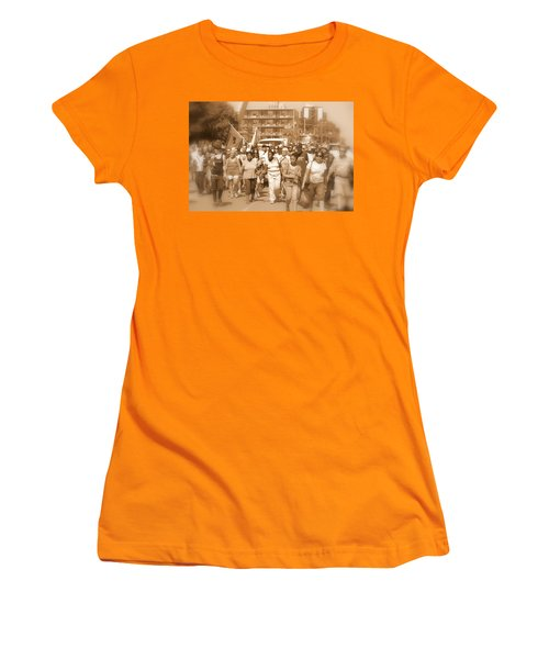 Labor Day Parade Women's T-Shirt (Athletic Fit)