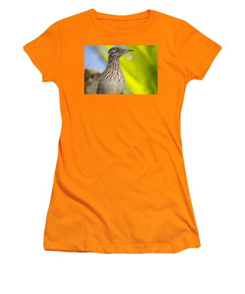 The Roadrunner  Women's T-Shirt (Junior Cut) by Saija  Lehtonen